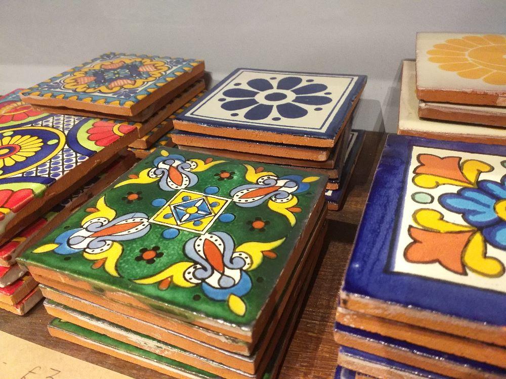 Talavera Tile Coasters