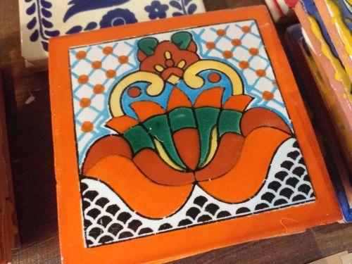 Talavera Tile Coaster - 1