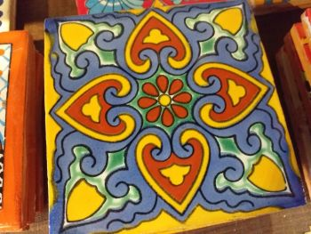 Talavera Tile Coaster - 4