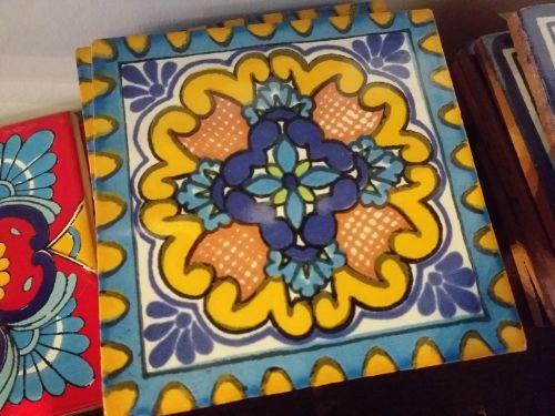 Talavera Tile Coaster - 5