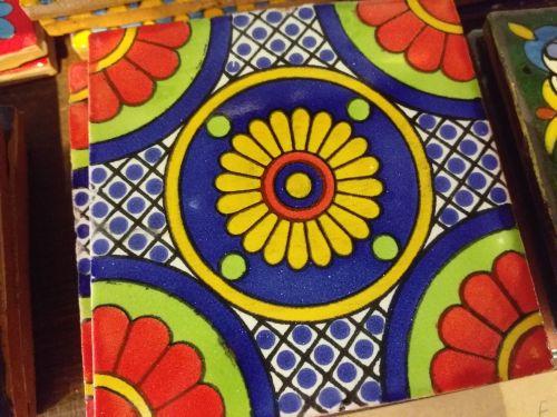 Talavera Tile Coaster - 6