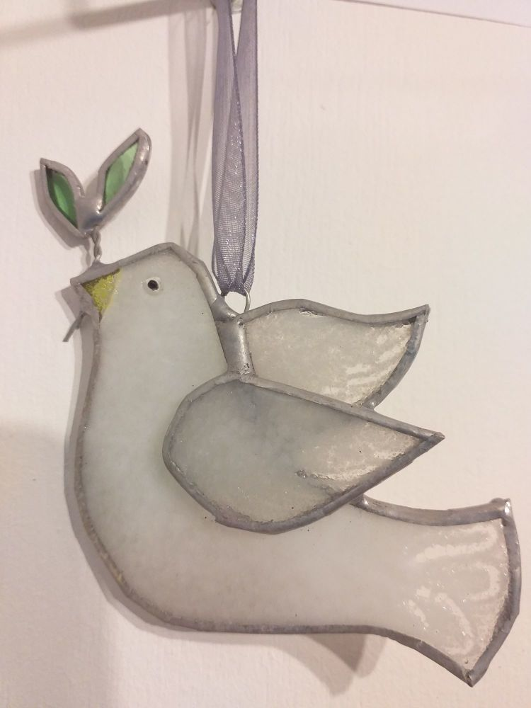 Locally-Made Glass Decoration - Dove