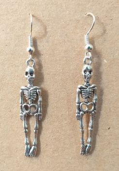 Day of the Dead Skeleton Earrings