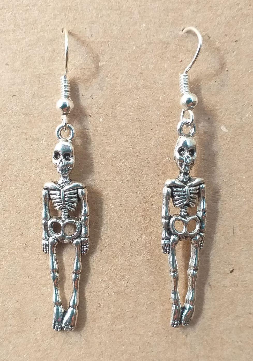 Day of the Dead Skeleton Earrings