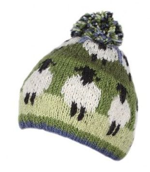 Sheep Bobble Beanie Hat