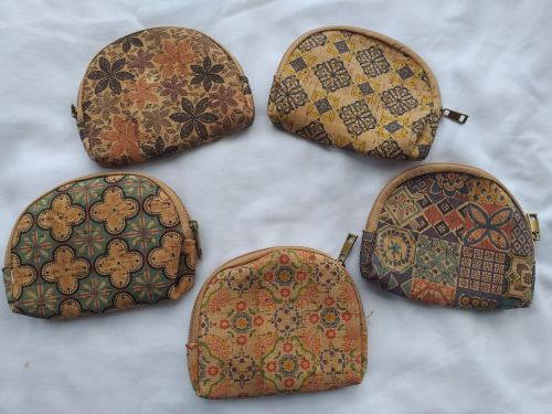 Portuguese Cork Purse - Oval