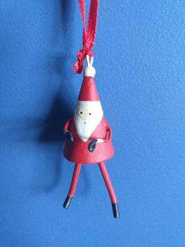 Metal Mini Santa