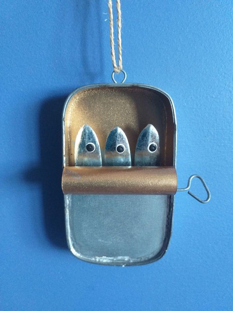 Metal Tin of Sardines