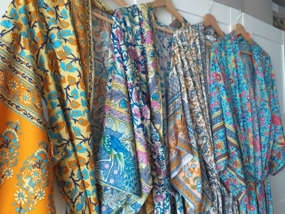 Boho Kimono Dressing Gowns