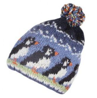 Puffin Bobble Beanie Hat