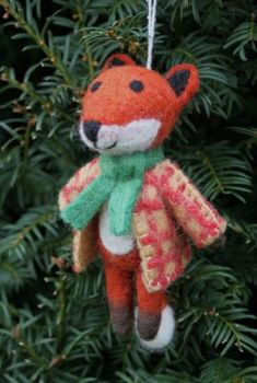 Felt Fox in Jacket