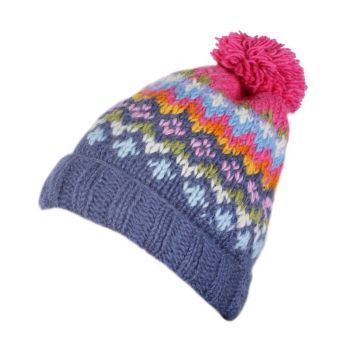 Norway Bobble Beanie Hat