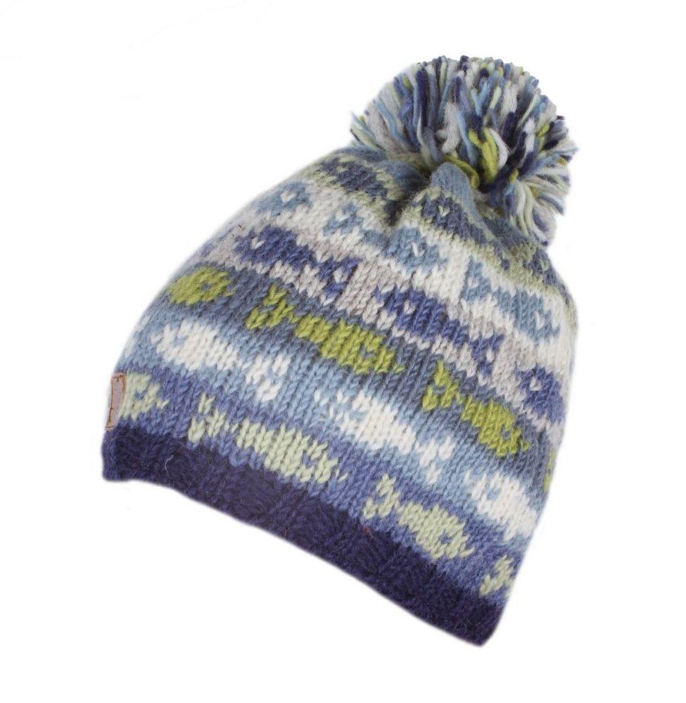 Sea Fish Bobble Beanie Hat
