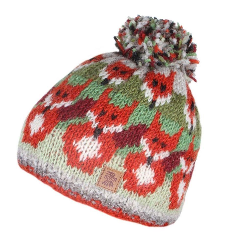Fox Bobble Beanie Hat