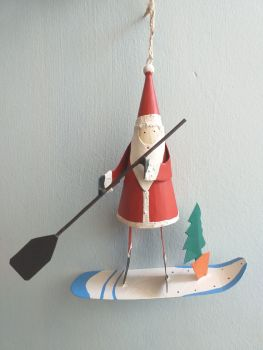 Metal Stand Up Paddle Board Santa