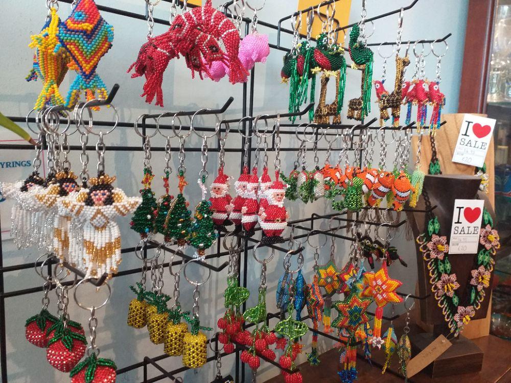 Huichol Beadwork - Keyrings