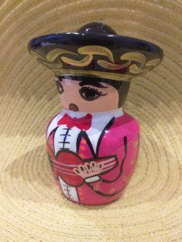Mariachi Tequila Salt Shaker -1