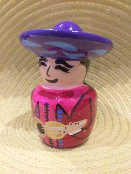 Mariachi Tequila Salt Shaker -2