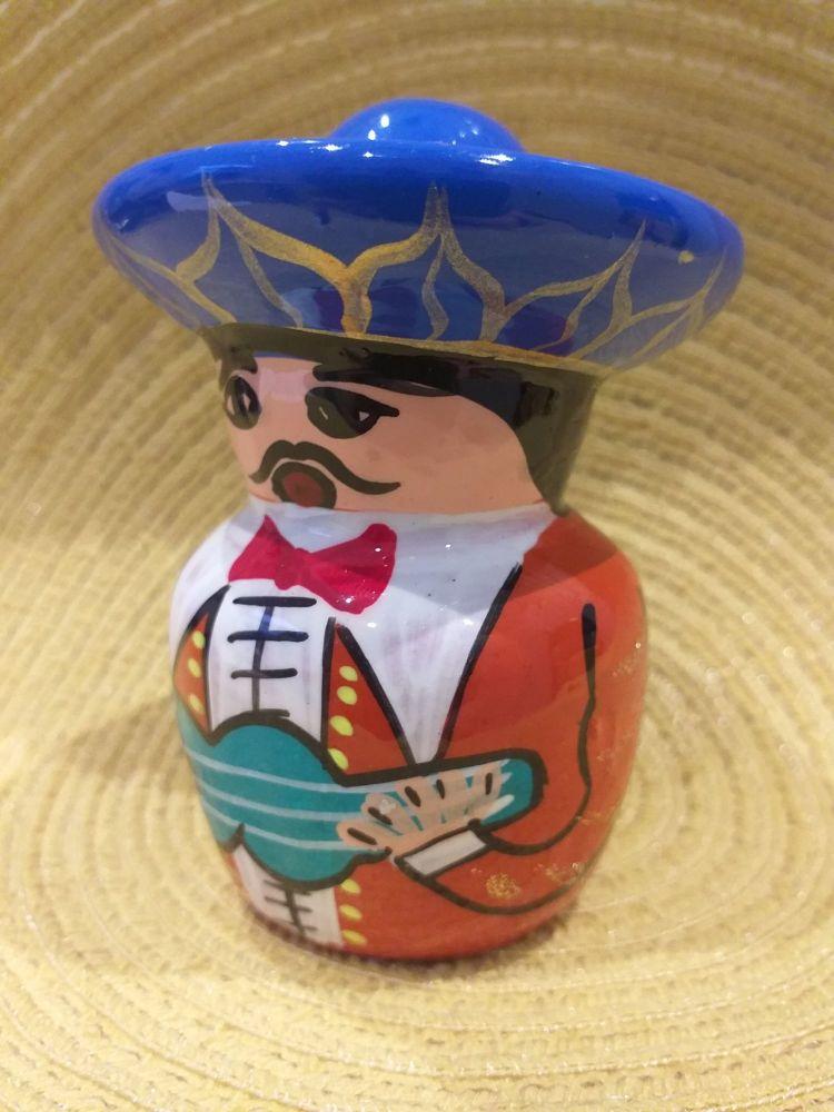 Mariachi Tequila Salt Shaker -3