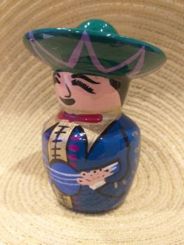 Mariachi Tequila Salt Shaker -4