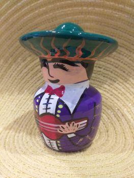 Mariachi Tequila Salt Shaker -5