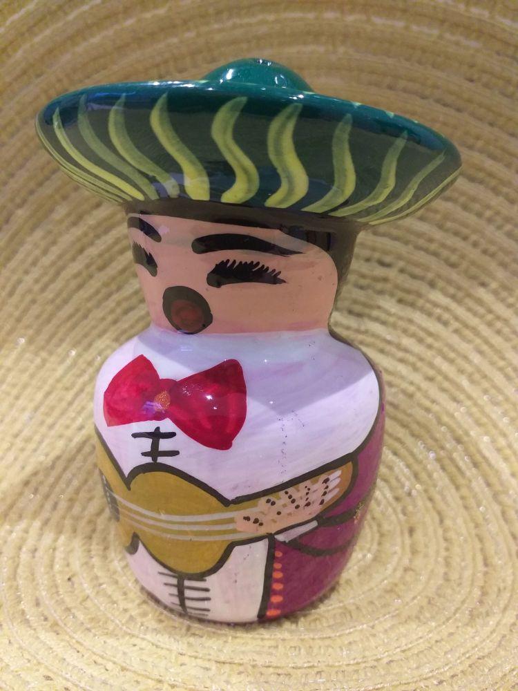 Mariachi Tequila Salt Shaker -6