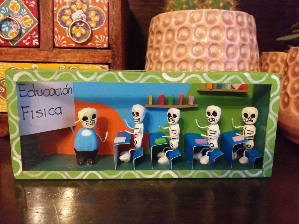 Mexican Retablo - PE Lesson