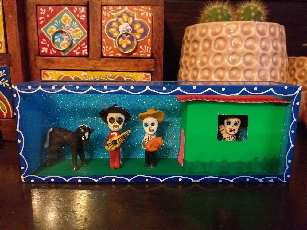 Mexican Retablo - Visit The Neighbour