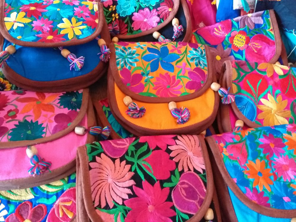 Mexican Embroidered Handbags