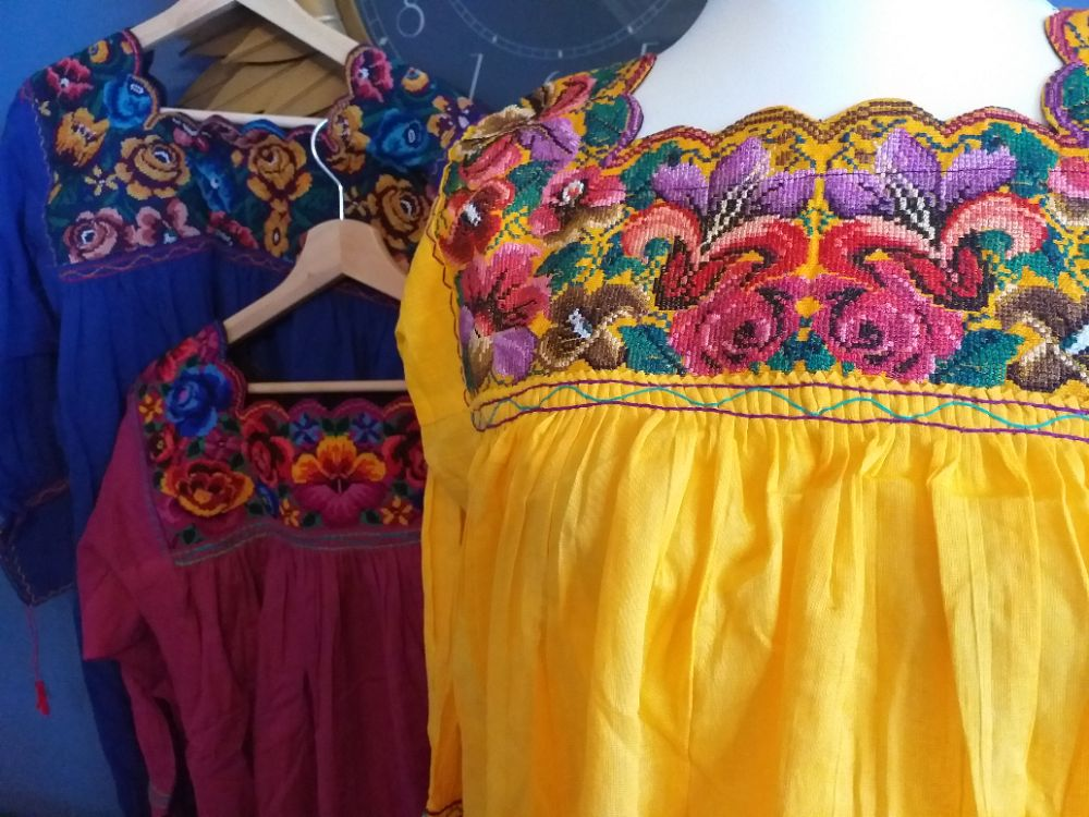 Mexican Huipil Blouses