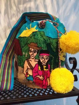 Colombian Wayuu Mochila Bag - The Couple