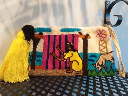 Colombian Wayuu Clutch Bag - Design 1
