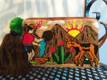 Colombian Wayuu Clutch Bag - Design 2