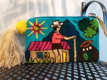 Colombian Wayuu Clutch Bag - Design 3