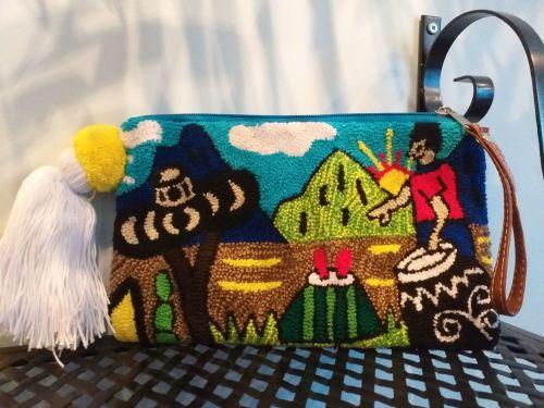 Colombian Wayuu Clutch Bag - Design 6
