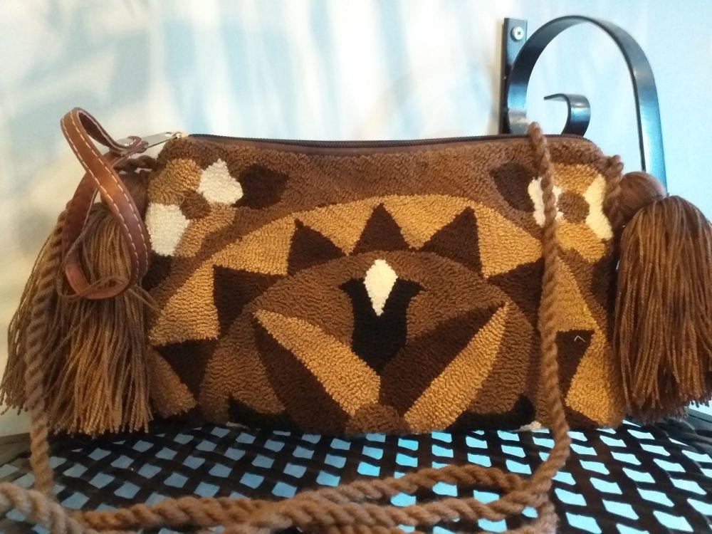 Colombian Wayuu HandBag - Design 10