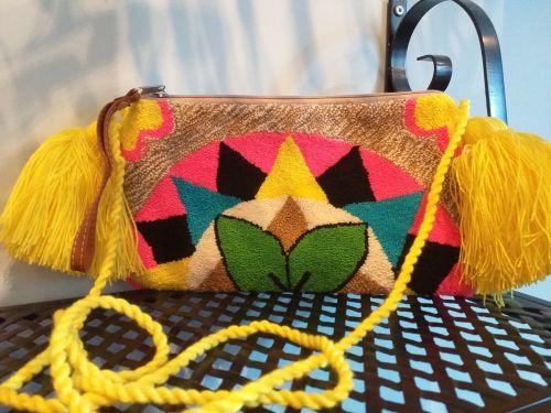 Colombian Wayuu HandBag - Design 2