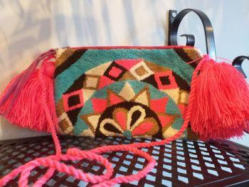 Colombian Wayuu HandBag - Design 6