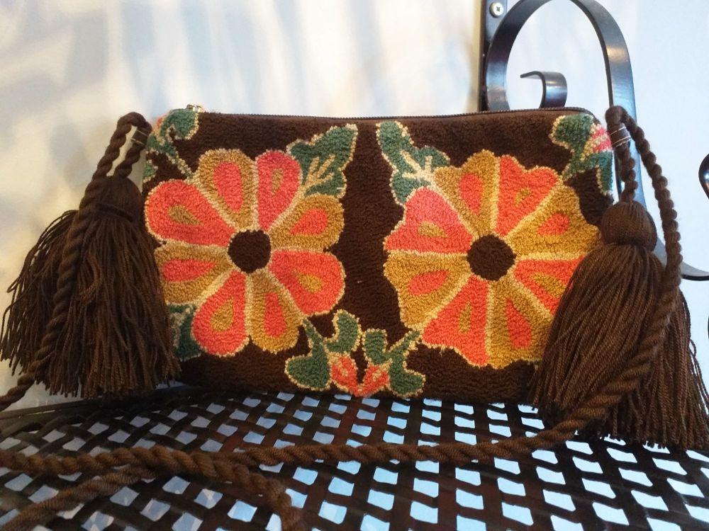 Colombian Wayuu HandBag - Design 7