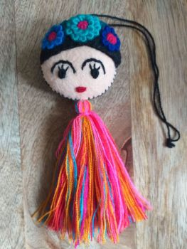 Embroidered Frida Hanging - 2