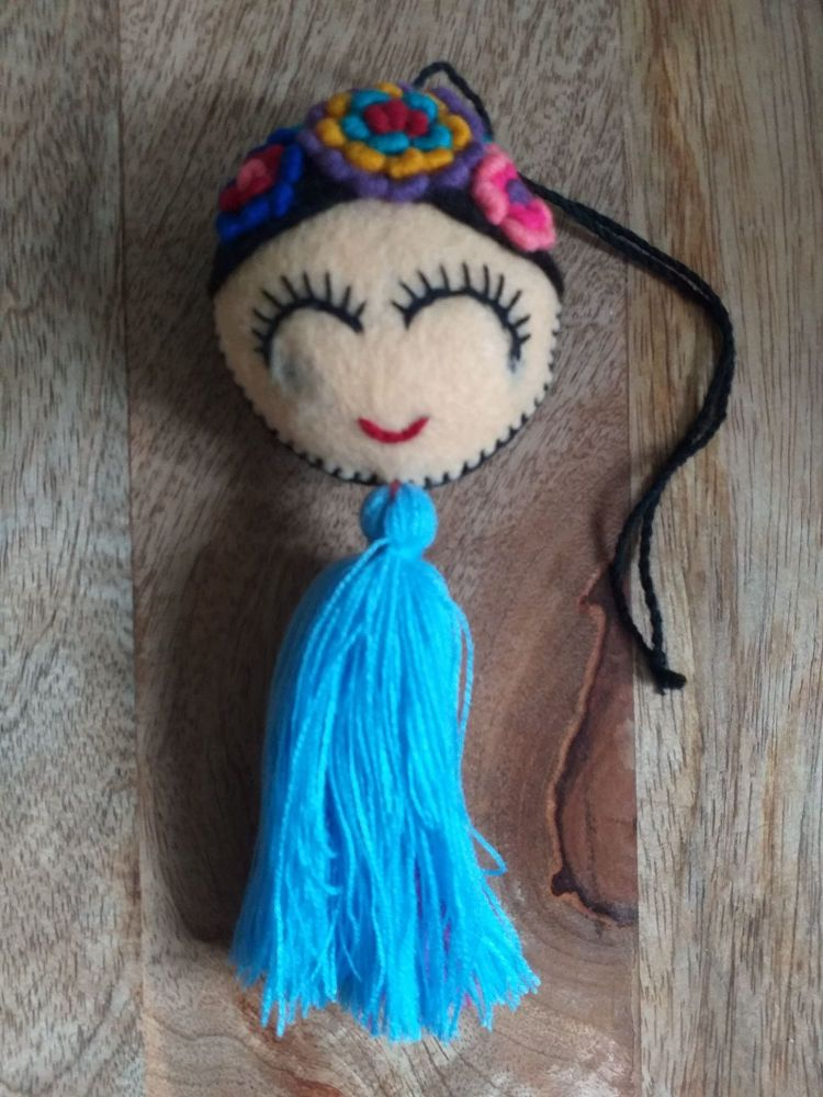 Embroidered Frida Hanging - 8