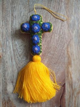 Embroidered Cross - 2