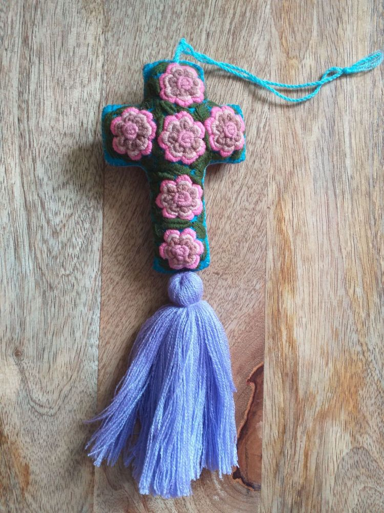 Embroidered Cross - 4
