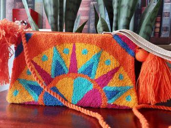 Colombian Wayuu HandBag - Design J
