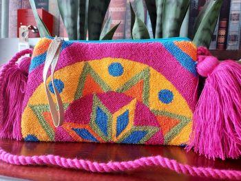 Colombian Wayuu HandBag - Design I