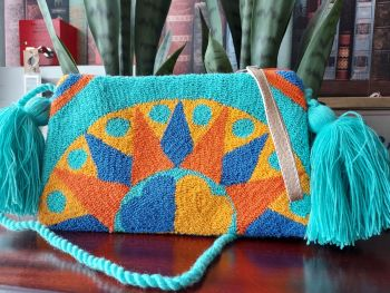 Colombian Wayuu HandBag - Design H