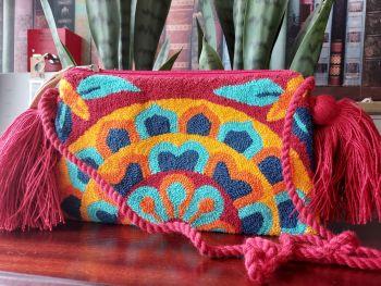 Colombian Wayuu HandBag - Design F