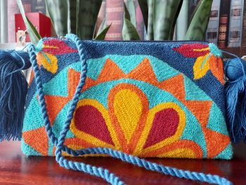Colombian Wayuu HandBag - Design E