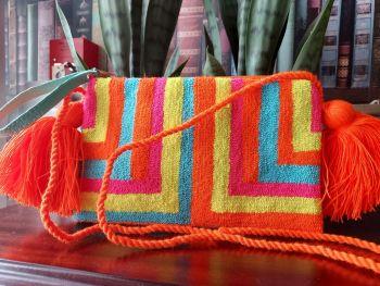 Colombian Wayuu HandBag - Design D
