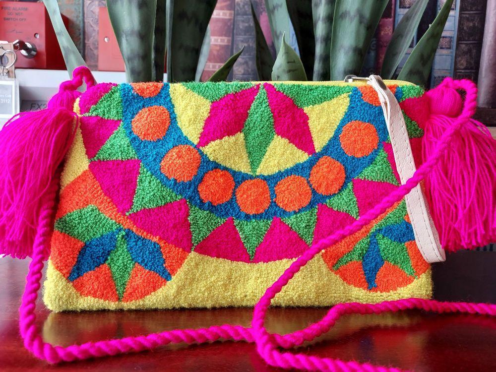 Colombian Wayuu HandBag - Design B
